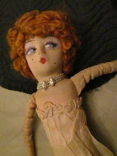 1920s 'Kuddles' Boudoir Doll