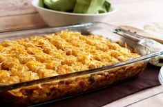 New Recipe: John Wayne Tater Tot Casserole - RecipeChatter Easy Tater Tot Casserole, Cheeseburger Tater Tot Casserole, Beef Casserole Recipes, Cooker Recipes, Crockpot Recipes, Potato Kugel Recipe, Mexican Food Recipes, New Recipes, John Wayne Casserole