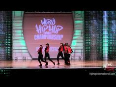 BUBBLE GUM (New Zealand) 2012 World Hip Hop Dance Championship - YouTube