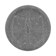 Customizable Dragon Paper Plate graphite Golden Dragon Tattoo, Dragon Tattoo Art, Party Plates, Party Tableware, Dog Design, Custom Design, Dragon Face, Stone Texture, Monogram Initials