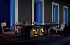 Luxury dining tables for modern apartments #luxuryhomes #contemporaryfurniture #highendfurniture
