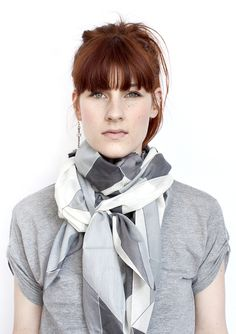 Monochromatic Display Scarf from Front Row Society