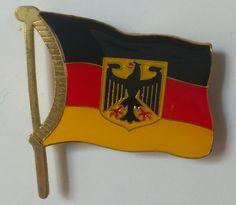 Le drapeau allemand, vacances chez la correspondante de ma fille en mai 2008