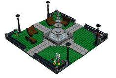 Bildergebnis für lego fountain instructions