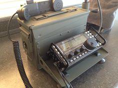 HF Radio With 17AH Battery QRP By N6VOA nick@countycomm.com