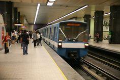 Montréal subway Le metro