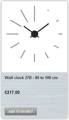 - Diameter:From 80 to 100 cm to 39 inch) - decide your self - Diameter shown: 80 cm inch). Wall Clock Online, Self
