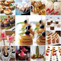 Mini appetizers! wedding-ideas