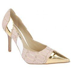 Scarpin Feminino Ouro Belmon - Sapato Show
