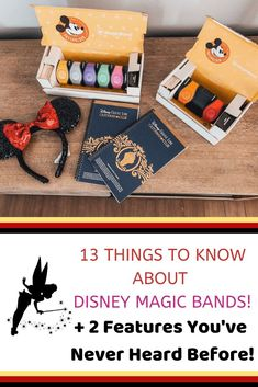 13 Amazing Features of Disney Magic Bands + You've Never Heard Before] – Disney Magic Bands are pretty amazing and convenient. Here are 13 amazing things magic bands do + 2 features no one has ever told you before! via Global Munchkins Disney World App, Viaje A Disney World, Disney World Secrets, Disney World Vacation Planning, Disney World Florida, Walt Disney World Vacations, Disney Resorts, Disney World Tips And Tricks, Disney Tips