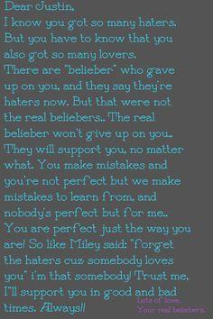 @Justin Bieber ✓ plz read this.?