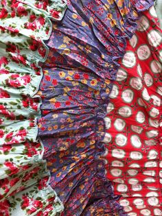 SESAME-CLOTHING...: NADIR POSITANO SS13...KANGA TUNIC OR DRESS...TURQUOISE AND ORANGE