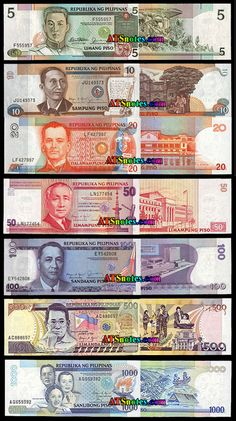 Philippines banknotes - Philippines paper money catalog and Philippine currency history;  Pilipinas papel de bangko - Pilipinas papel pera katalogo at Philippine currency kasaysayan