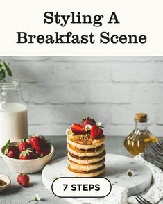 Discover how to Styling A Breakfast Scene in 7 steps best #food things to, #food exchange, food job circular 2018, food vendors, 4 oz baby food jars, gel food coloring, food truck regulations, disneyland food and wine festival 2018 dates, food anime clip art, small food blender, smosh food battle, good food close to me, food dye hair, harvest maid food dehydrator new zealand, food flask amazon, food grade mineral oil for bamboo cutting board. Food Photography Lighting, Cake Photography, Background For Photography, Breakfast Photography, Product Photography, Easy Baking Recipes, India Food, Creative Food, Food Videos