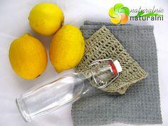 Podstawy sprzątania bez chemii – proste przepisy – soda, ocet i cytryna.