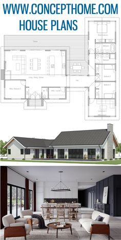 Tiny House Plans 507217976785442773 - Floor Plans, Home Plans, House Designs Source by martineplouguer Bungalow House Design, Bungalow House Plans, Cottage House Plans, Craftsman House Plans, Country House Plans, Dream House Plans, House Floor Plans, House Layout Plans, Floor Plan Layout