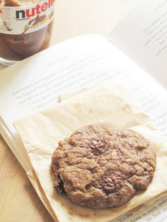 Double Nutella Chip Cookies...I am having a love affair with Nutella =)