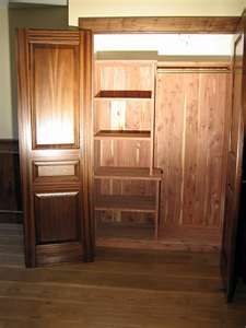 Cedar Lined Closets....one Day.