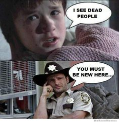 haha The Walking Dead