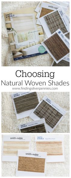 48 affordable ready made woven window shades to fit most for Smith and noble natural woven shades