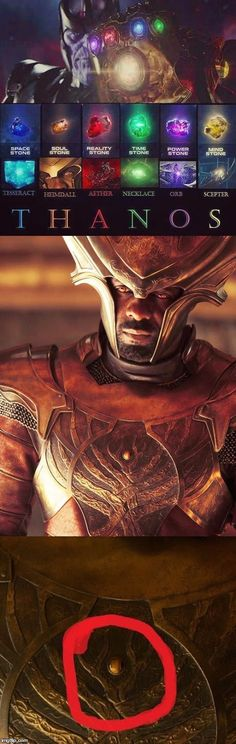 For the guys who didn't noticed this Without the Soul stone Heimdall is as good as blind or dead