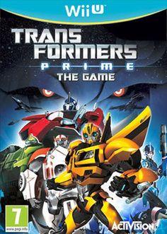 Transformers Prime WiiU    by Activision - Nuovo Sigillato