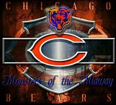 Monsters are back! Chicago Bears Super Bowl, Nfl Chicago Bears, Bears Football, Chicago Illinois, Chicago Blackhawks, Football Memes, Chi Bears, Chicago Bears Wallpaper, Chicago Bears Pictures