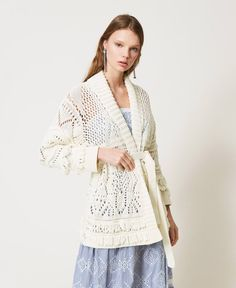 Bell Sleeves, Bell Sleeve Top, Maxi Cardigan, Unique Outfits, Knitwear, Lace, Collection, Tops, Women