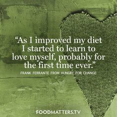 This one always sticks with us. www.hungryforchange.tv #foodmatters #FMquotes #hungryforchange