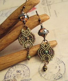 Micro Macrame Earring Patterns | and watches
