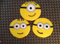 1Dz Minion Sugar Cookies by cerassweetshop on Etsy, $36.00