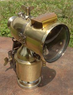 Karbidlampe von Peugeot