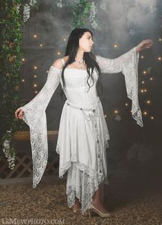 New Fairy Gwendolyn Shorter Style Medieval Dress...love this!!