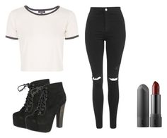 """""""Untitled #149"""" by astroncastro on Polyvore featuring Breckelle's and Topshop"""