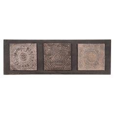 Toile en polyrésine marron 33 x 100 cm NEWALA