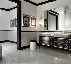 That's why Luxury Bathrooms' editors have selected some stunning bathroom ideas by Kelly Hoppen that you certainly will covet. Take a look!