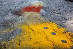 Spice Circles - Land Art Alex Birchall