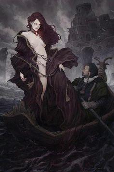 The Smuggler and the Priestess