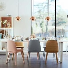 Classic Home Update: Eames Chairs   sheerluxe.com