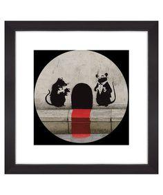 Rat restaurant print Sale - Banksy Sale