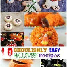 10 Ghowedoulishly easy halloween recipes