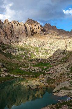 Sunlight Peak, Chicago Basin, Weminuche Wilderness, Colorado  http://fineartamerica.com/featured/sunlight-peak-reflection-aaron-spong.html