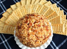 Are you looking for a simple, delicious, fancied up traditional holiday side? Or the perfect gift for friends to enjoy (that they wont just toss in the tr Appetizer Dips, Appetizer Recipes, Snack Recipes, Snacks, Yummy Appetizers, Cream Cheese Ball, Vegan Cream Cheese, Cheese Ball Recipes, Party Dishes