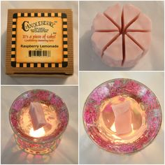 Raspberry Lemonade, Wax Tarts, Candle Holders, Fragrance, Fans, Candles, House, Porta Velas, Candy