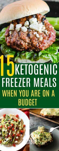 15 KETO Freezer Meals When You're on a Budget #keto #ketogenic #lowcarb #chasingabetterlife