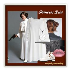 """""""Star Wars: Princess Leia"""" by everyday-bounding on Polyvore featuring maurices, NARS Cosmetics, Chicwish and Space Style Concept"""