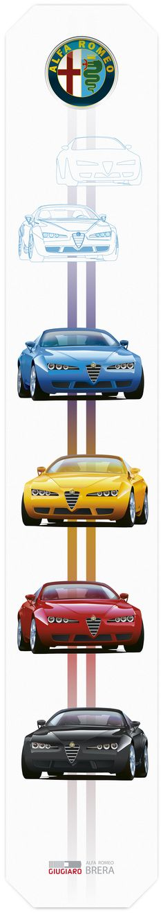 I created years ago a Illustration visual off a Alfa Romeo Brera as a private project. The base document was a low-res desktop picture. All artwork is done in Ai.