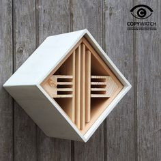 Urban Insect Hotel - Wildlife and Insect Habitats and Houses - Aviaries, Birdhouses & Tables, Dovecotes, Pet Hutches & Wildlife Houses Insect Box, Carpenter Bee Trap, Bee Traps, Homemade Bird Houses, Bug Hotel, Mason Bees, Overwintering, Garden Decor Items, Bird Boxes