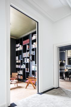 A Historic Brussels Townhouse Made Chic Through an Artful Renovation Photos | Architectural Digest