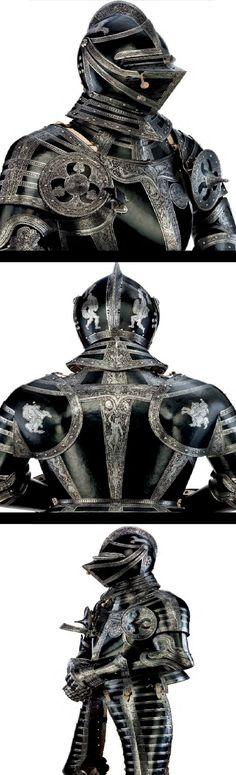 Armadura que fue del duque Julio de Brunswick-Wolfenbuttel - Alemania - C 1560